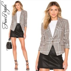 NWT FREE PEOPLE Chess Blazer!